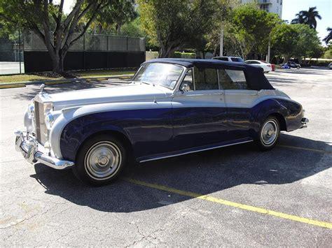 1962 rolls royce 4 door custom convertible 88982