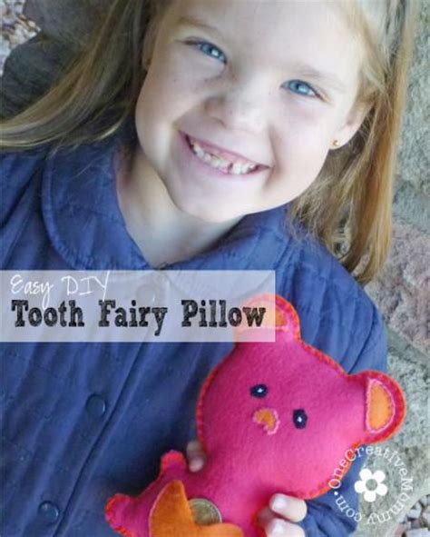 Wonderful Diy Tooth Pillow by Easy Diy Tooth Pillow Onecreativemommy