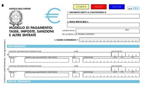 f23 ufficio o ente modello f23 editabile 2013 soldioggi