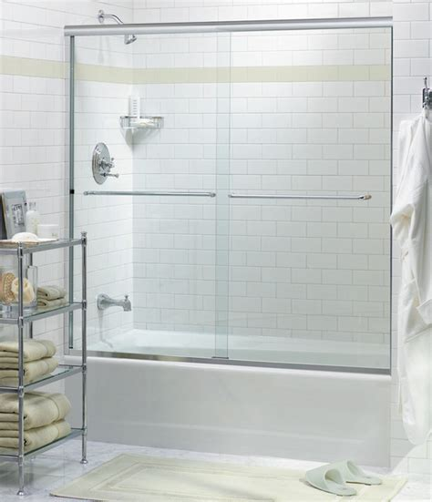 Oasis Frameless Bypass Shower Doors Contemporary Bypass Shower Doors Frameless