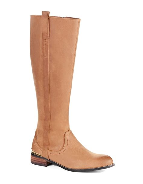 volatile boots volatile mel boots in brown lyst