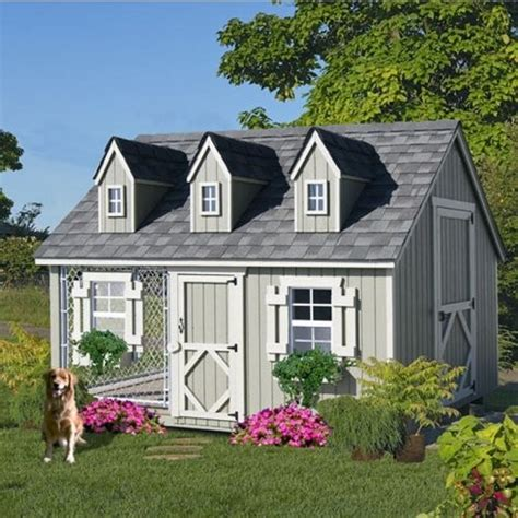 Cape Cod Cozy Cottage Kennel Dog House Contemporary Pet Supplies By Hayneedle