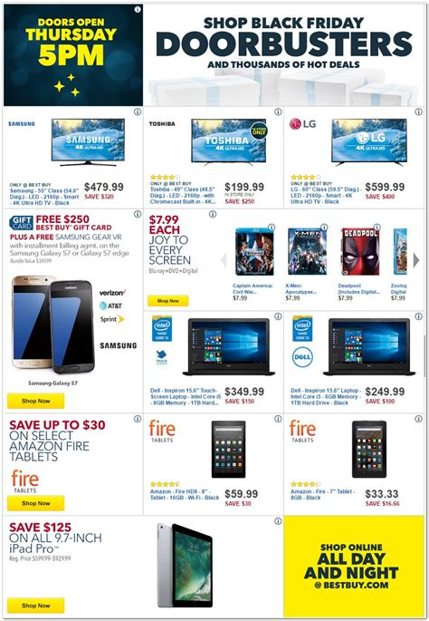 best buy black friday 2016 ad iphone 7 ps4 pro bundle tvs and other deals bgr