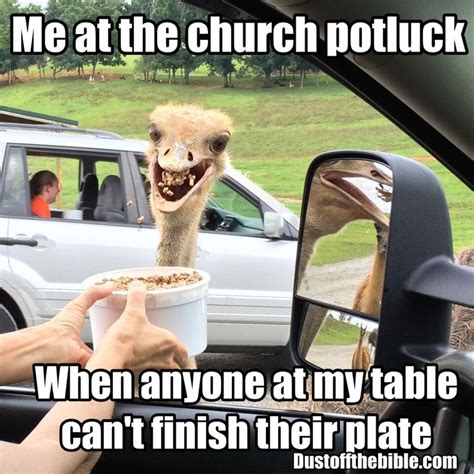 Potluck Meme - church potluck christian meme christian memes