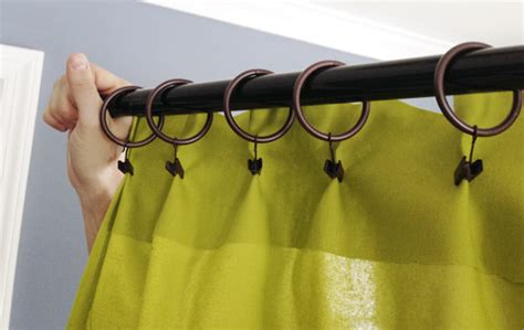 curtains with clip rings making pleated curtain panels the easy way young house