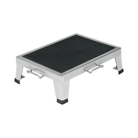 stainless steel stacking step stool by mid central stainless step stool ss81 step stool sc 1 st