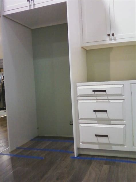 installing refrigerator cabinet side panels fridge cabinet panel bar cabinet