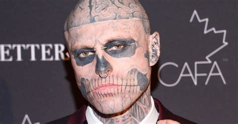 zombie boy tattoo boy before the tattoos how beating a brain tumour