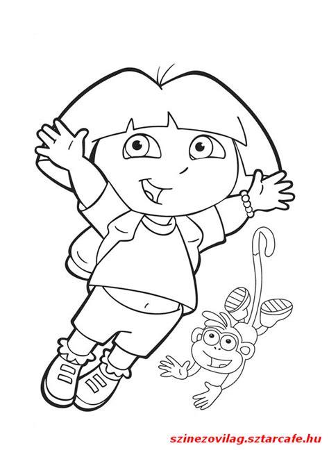 dora printable preschool activities d 243 ra nyomtathat 243 kifestő google keres 233 s kifestő