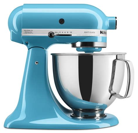 Mixer Kitchenaid blue kitchenaid appliances the kitchen