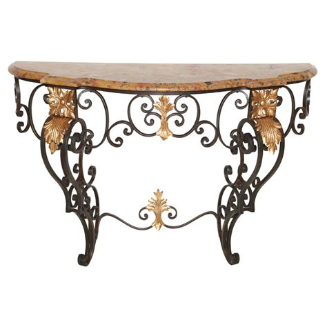 Iron Console Table 19c Iron Console Table On Antique Row West Palm Florida