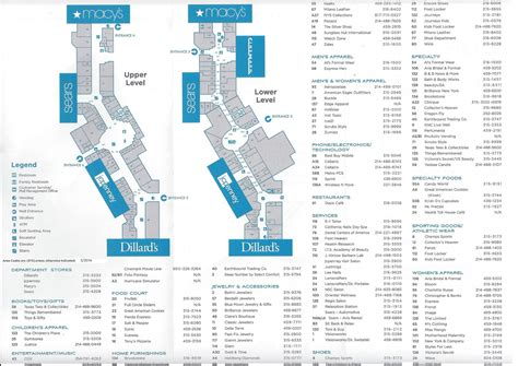 Layout Of Stonebriar Mall | stonebriar mall map stonebriar mall map welcome to