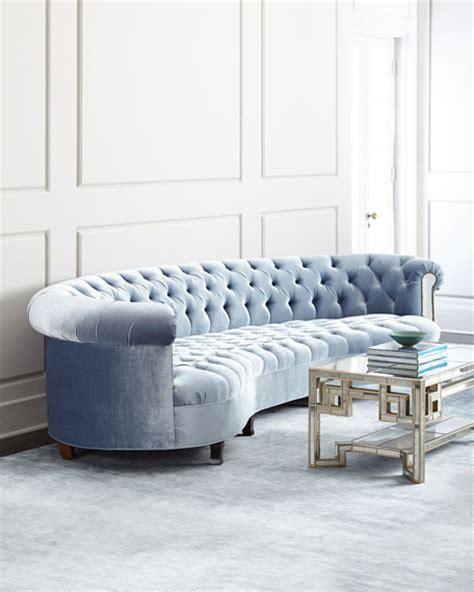 haute house mirrored sofa