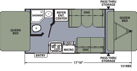 House Plan 311001 by 100 Coleman Pop Up Camper Floor Plans 1995 Coleman