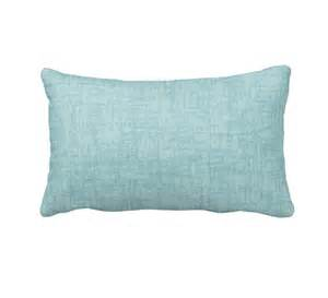 decorative throw pillows sofa light blue pillows solid blue