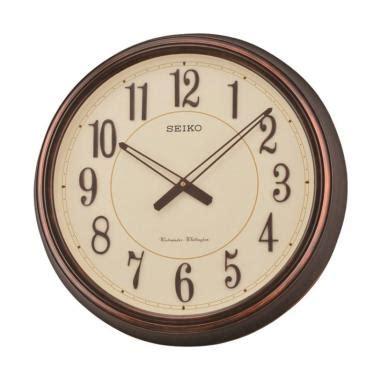 Jam Dinding Seiko Qxa579s jual seiko qxd212b westminster dual chime wall clock jam dinding brown 51 cm harga