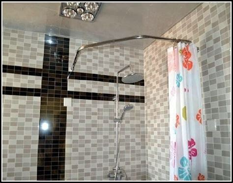 10 foot curtain pole 10 foot shower curtain rod curtains home design ideas