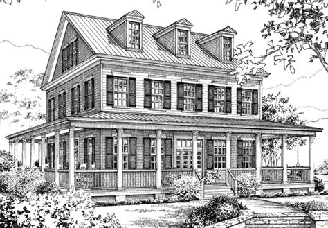 southern living house plans farmhouse moss bluff allison ramsey architects inc southern