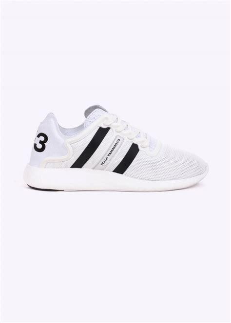 Adidas Y3 Yohji Yamamoto Premium 1 y3 adidas yohji yamamoto yohji run trainer white trainers from triads uk
