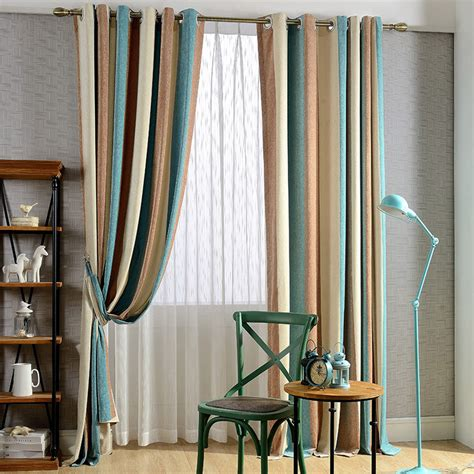 stripe curtains striped curtains for classy windows furnitureanddecors