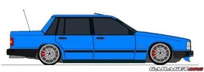 Volvo Paint Garaget Volvo 740 Turbo 1987