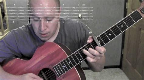 guitar tutorial of passenger seat let her go guitar lesson tutorial tabs passenger