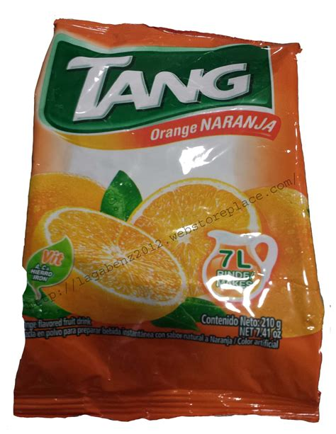 Tang Iwt No 7 tang refil no sugar needed 245g drink mix 3 packets select your flavors best jamaica products