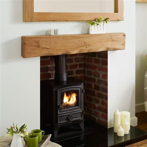 Rustic Oak Mantel Shelf by Oak Mantel Shelf Waney Rustic Solid Beam