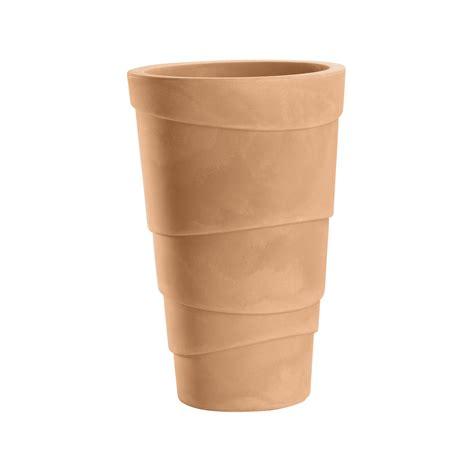 vasi per giardino vasi da giardino e casa in plastica zig zag nicoli