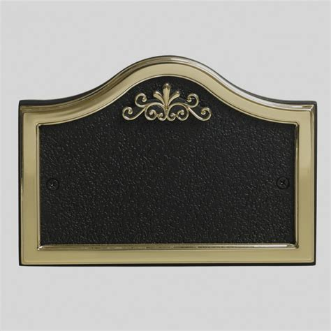 Wonderful Of Blank Plaque Template Gold Nameplate Psd Psdgraphics 2018 Blank Template Template For Plaque Designs