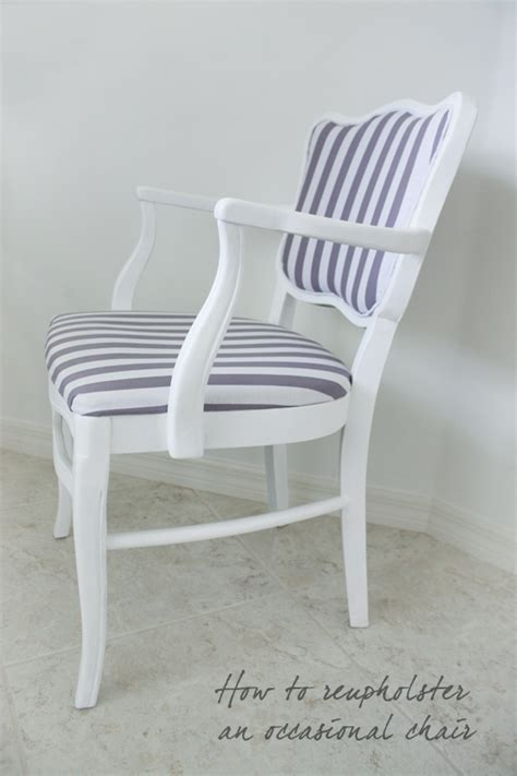 reupholster armchair tutorial how to reupholster an occasional chair house mix