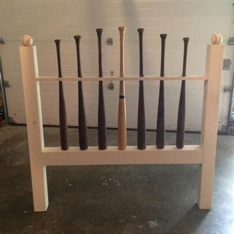 baseball bat headboard baseball bat headboard photo sports room pinterest