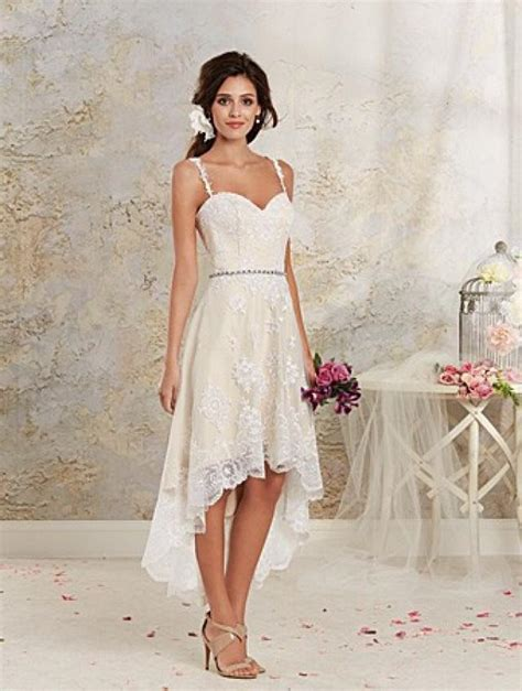 alfred angelo 8535nt high low wedding dress crazy
