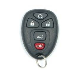 How To Remote Start Buick Enclave 2013 Buick Enclave Remote Keyless Entry Key Fob 25839476