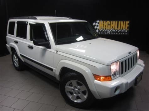 2006 Jeep Commander Accessories Buy Used 2006 Jeep Commander Only 38k 4 7l V8 All