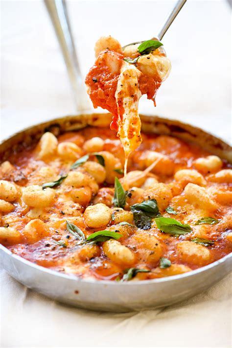 gnocchi with pomodoro sauce foodiecrush com