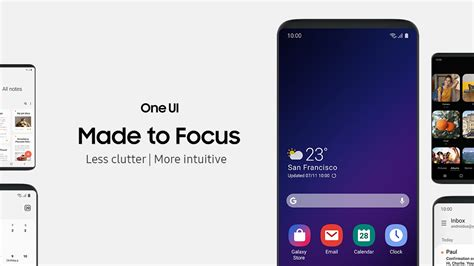 Samsung One Ui Samsung S One Ui Will Not Make It To The Galaxy S8 S8 Plus And Note 8 Notebookcheck Net News