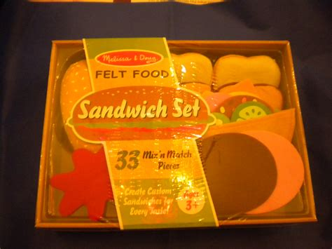 and doug felt sandwich set building blocks
