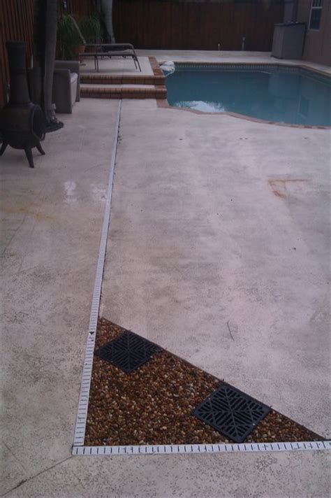 Pool Patio Drains by Drains By A Pool Deck Style Miami By