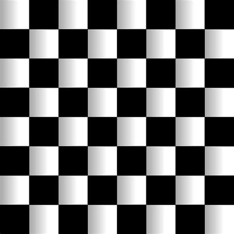 trend terbaru gambar abstrak kotak hitam putih
