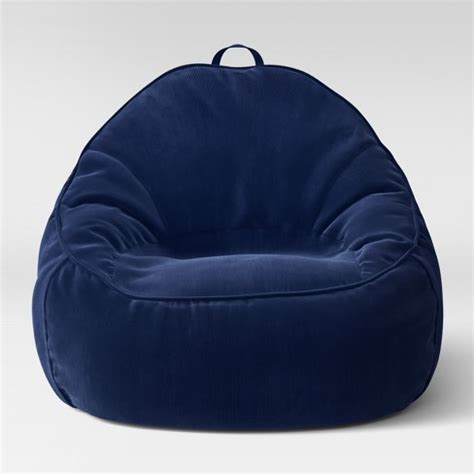 structured bean bag chair xl structured bean bag chair removable cover corduroy