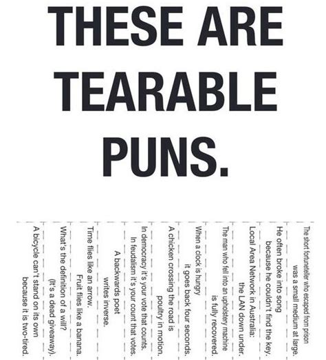 Pun Lit by World S Hundred Worst Puns Click To See The List