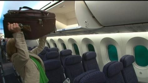 united charging for carry on bags united airlines cracking down on baggage size video abc news