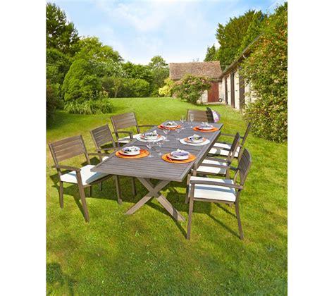 table jardin promo carrefour table de jardin extensible honfleur prix promo table de jardin carrefour 399 00