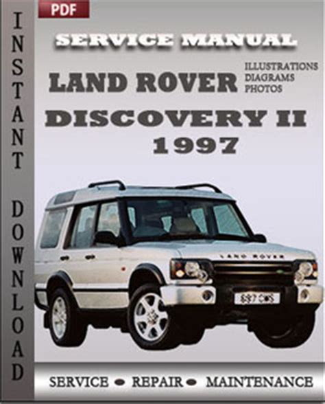 1997 land rover range rover engine service manual shop manual discovery service repair land