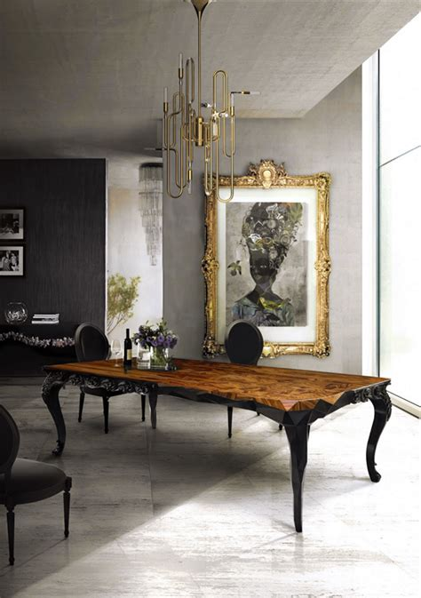 mixing modern chandelier with a traditional grey charcoal white gold gilded black chandelier