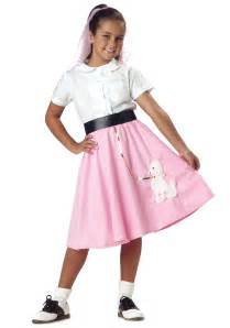 halloween poodle skirt costumes girls pink poodle skirt kids 1950s poodle skirt