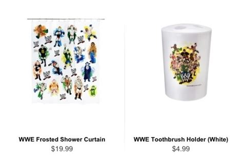 wwe bathroom decor wwe now goes into bathroom accessories random crap wwe