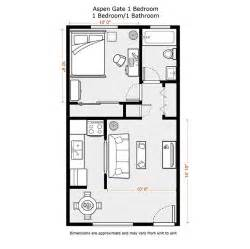 Small 1 Bedroom House Plans 1 Bedroom Apartment Floor Plans 500 Sf Du Apartments