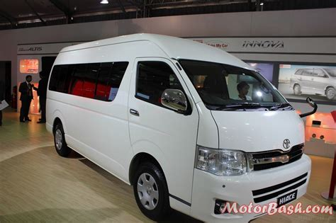 Launch Of Toyota Toyota Confirms Launch Of 10 Seater Hiace In India This Year